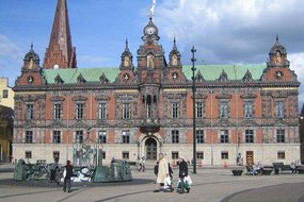 Radnica v Malmö.