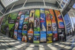 Exteriér slovenskej expozície na svetovej výstave Expo 2017 v kazašskej Astane.
