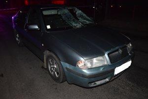 Babičku zrazila Škoda Octavia.