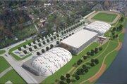 Prvé vizualizácie komplexu. Mesto chce presnejšiu architektonickú štúdiu.