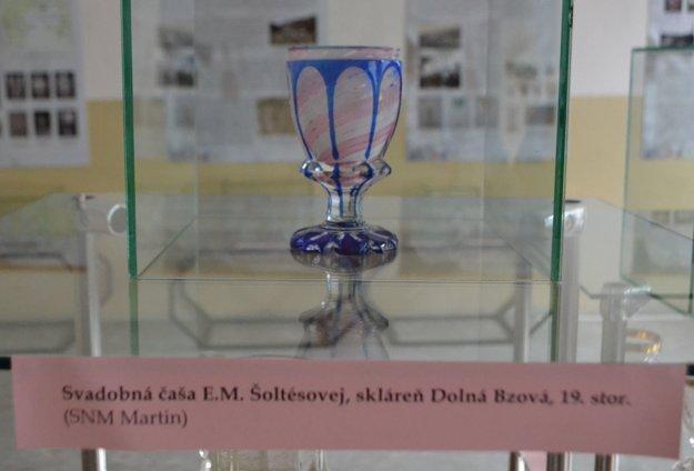 Svadobná čaša Eleny Maróthy Šoltésovej.