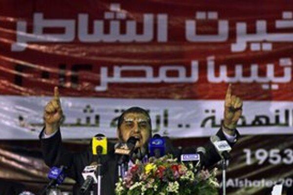 Kandidát Moslimského bratstva Chairat Šatír nemôže ísť do volieb.
