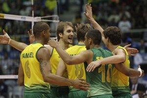 Volejbalisti Brazílie. Ilustračné foto