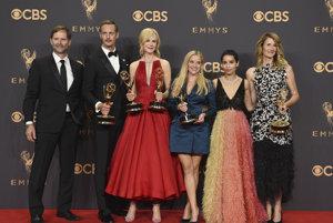 Herci zo seriálu Big Little Lies pokope
