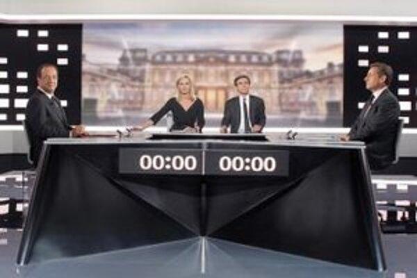 V televíznej diskusii.