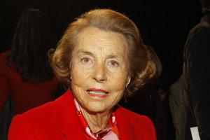 Liliane Bettencourtová.