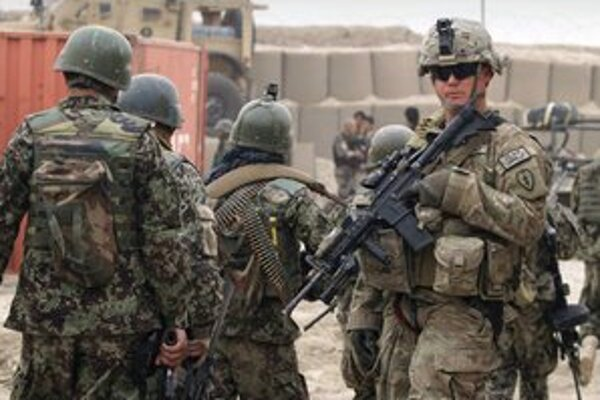Afganskí vojaci.