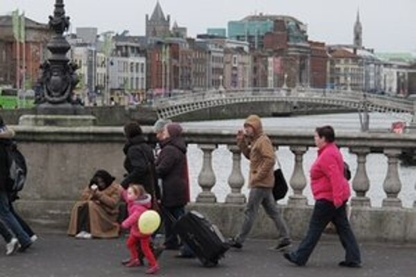 Írska metropola Dublin.