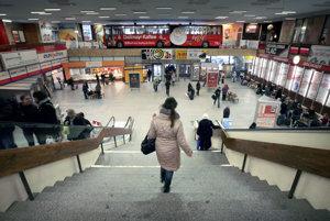 Autobusová stanica v roku 2011.