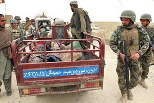 Afganské bezpečnostné sily.