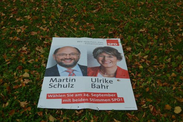 Plagát SPD.