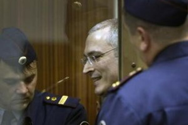Bývalý ropný magnát Michail Chodorkovskij.