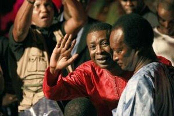 Senegelský spevák Youssou Ndour.