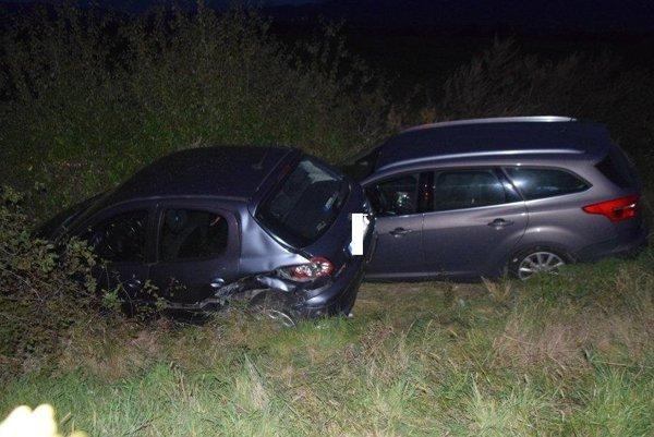 Po dopravnej nehode v Tibave.