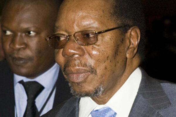Bandaová prevzala úrad po úmrtí jej predchodcu Binga wa Mutharika (na snímke).