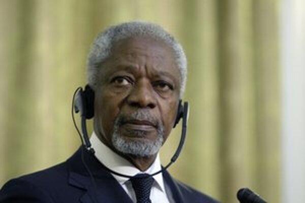 Asadova vláda neplní podmienky dohody vyrokovanej Kofim Annanom.