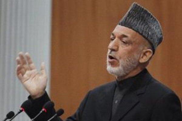 Afganský prezident Hamíd Karzaj.