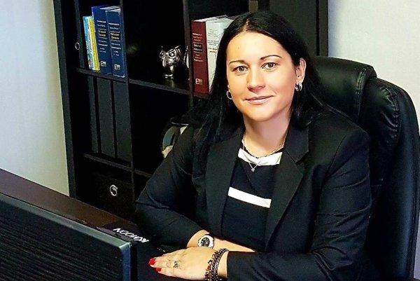 Advokátka a mediátorka Lucia Luptáková.