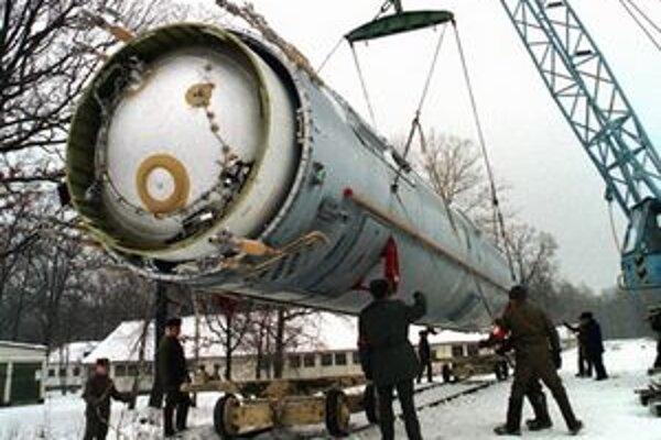Ruská balistická strela SS-19.