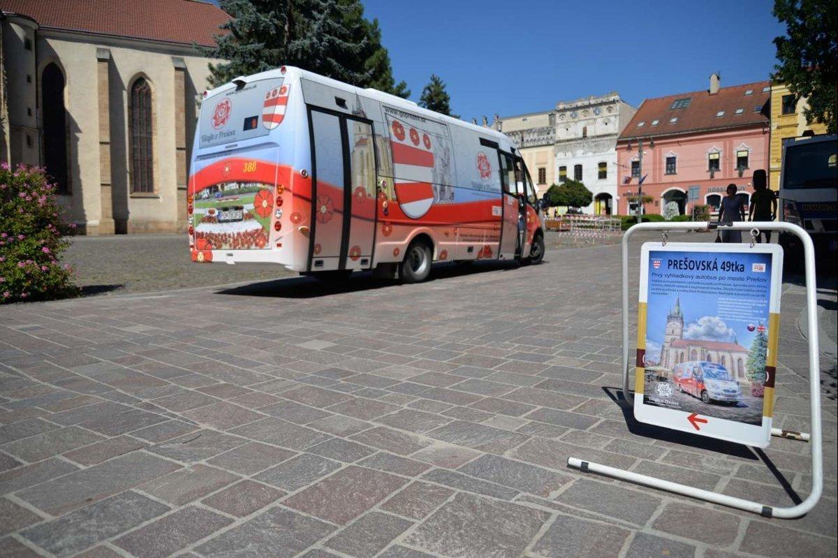 08efaf49e V Prešove budú bezplatné jazdy vyhliadkovým autobusom a prehliadky ...