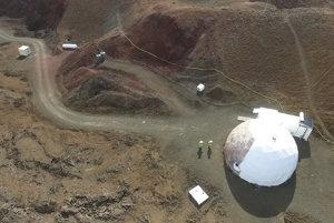 Základňa HI-SEAS na Mauna Loa.