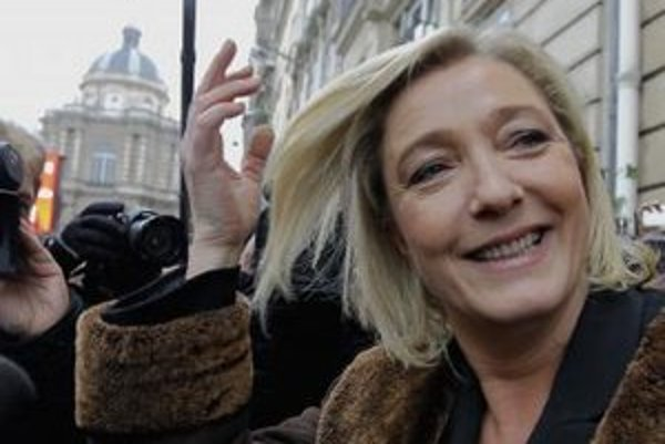 Francúzska ultrapravicová politička Marine Le Penová.