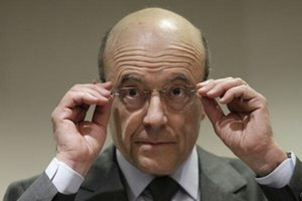 Francúzsky minister zahraničia Alain Juppé.