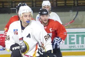 Zo zápasu 2. hokejovej ligy HK 91 Senica - Ružomberok.