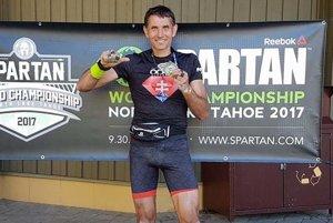 Ladislav Sventek, majster sveta v Spartan Race.