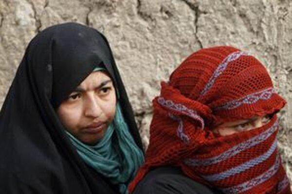 Afganskí utečenci.