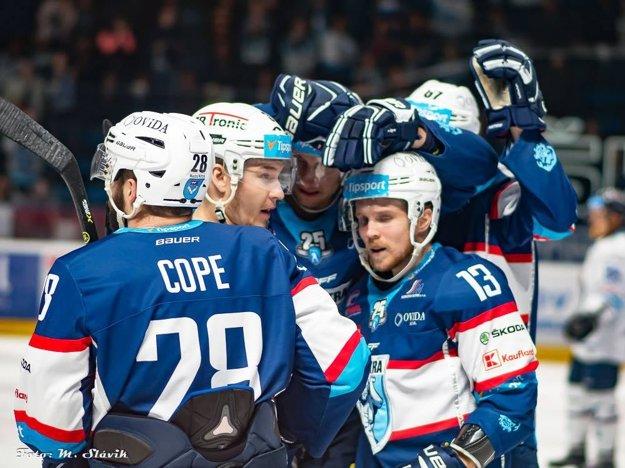 Prvý útok Cope - Krištof - Paulovič sa postaral o všetky tri góly Nitry proti Popradu.