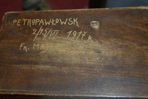 Šperkovnica zo zajatia, ktorú Štefan Masaryk dostal od kamaráta