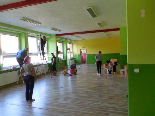 Priestory materskej školy prešli rekonštrukciou.