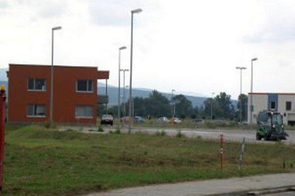 Priemyselný park v Prievidzi.