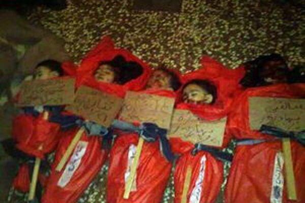 Sýrske deti zabité po streľbe armády.