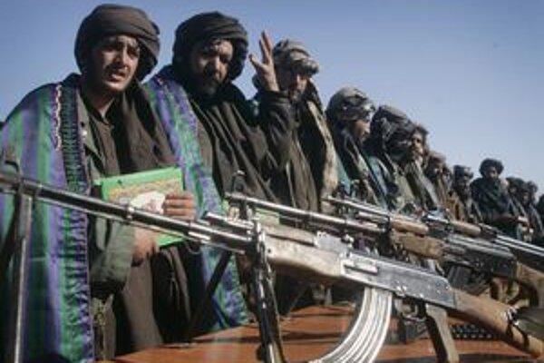 Príslušníci Talibanu v Afganistane.