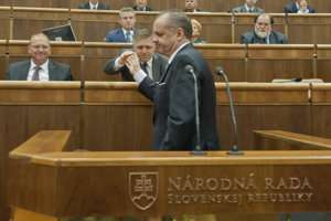 Premiér Fico a prezident Kiska