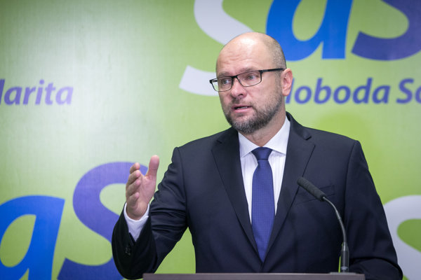 Richard Sulík, predseda strany Sloboda a Solidarita.