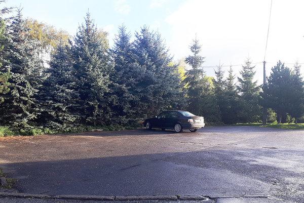 Pozemok pod parkoviskom patrí Kamilovi Bednárovi. Kdohode ojeho predaji smestom stále nedospeli.