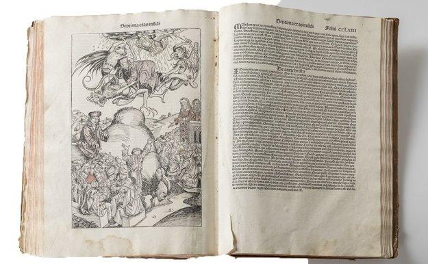 Schedelova kronika. Kritici a prví reformátori cirkvi mali byť podľa katolíckeho učenia naveky zatratení v pekle.
