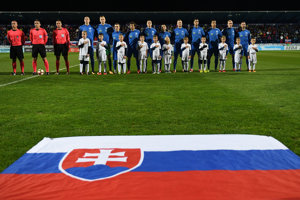 Mladí Slováci nastupovali na zápas v pozícii outsiderov.