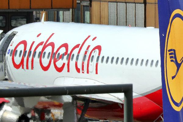 Lietadlo Air Berlin.