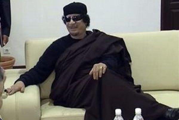 Kaddáfí Blairovi okrem iného tvrdil, že je obeťou islamistického sprisahania a nie ľudového povstania.