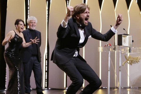 Ruben Östlund práve získal Zlatú palmu v Cannes.