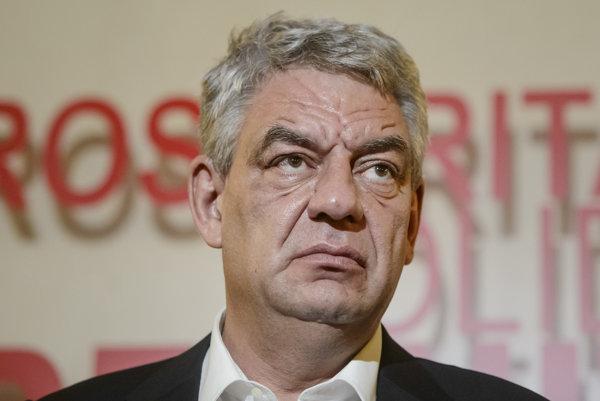 Rumunský expremiér Mihai Tudose.