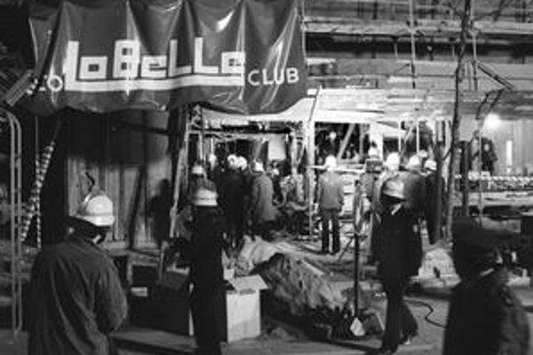 Za útokom na La Belle zrejme stál Kaddáfí (vľavo).