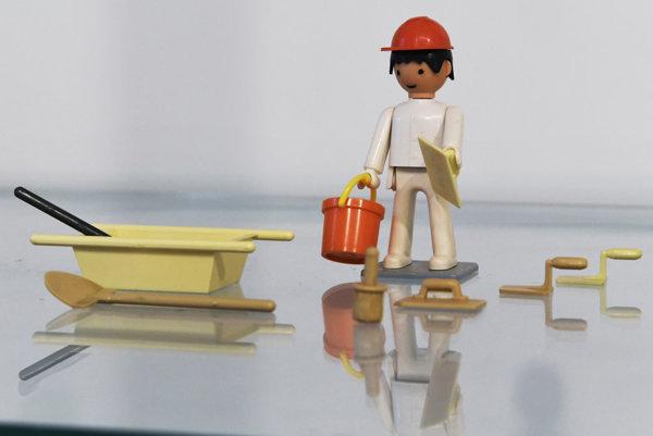 Prvý model murára. Cez schvaľovaciu komisiu prešiel na prvý raz.