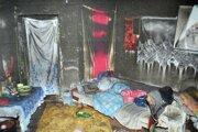 Zapálenie toluénu sa môže skončiť aj takto. Foto je z východného Slovenska.