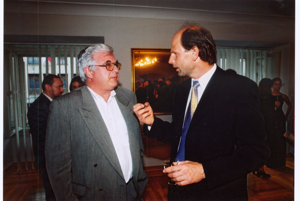 S pánom Vladimírom Rajčákom na 15. výročí BOF.