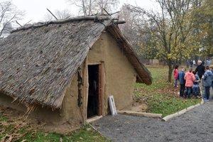 Hanušovský archeopark.